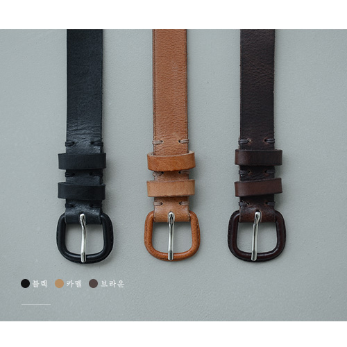 Coverd Leather Belt