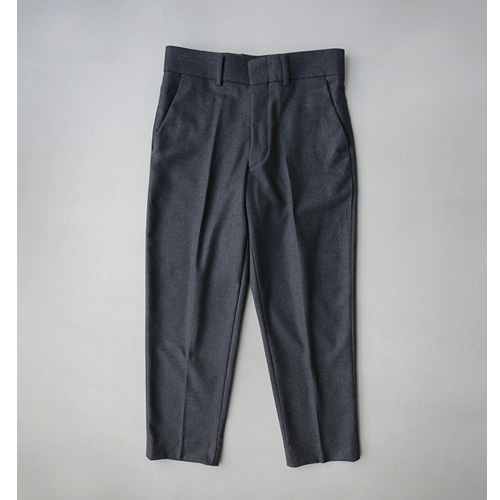 Plain Crop Slacks