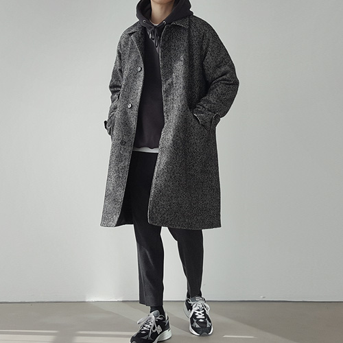 [Pati.] Herringbone Over Coat