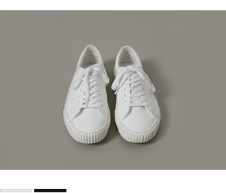 Enamel Low Sneakers