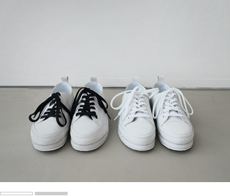 Split Leather Sneakers