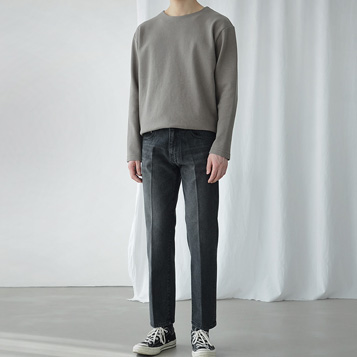 Gentle Line Denim(Black)